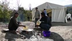 Migranti na Vučjaku čekaju odluku lokalnih vlasti