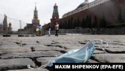 Мәскәүдә Кызыл мәйдан күренеше