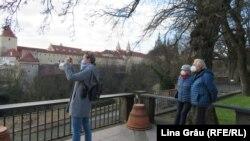 Gradinile Castelului din Praga au fost deschise pentru vizitatori.