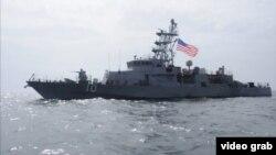 Патрульный катер ВМФ США Cyclone