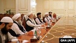 اعضای گروه طالبان در قطر