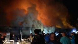 Najmanje 14 poginulih u požaru u COVID bolnici u Tetovu