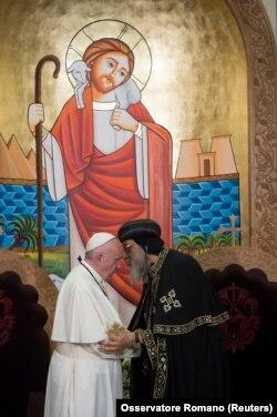 سفر پاپ به مصر در آوریل ۲۰۱۷