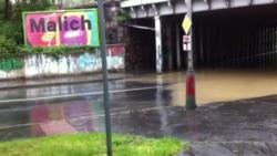 Надзвычайная паводка ў Чэхіі. Рэкі выйшлі зь берагоў