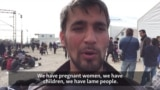 Migrants Pile Up At Serb-Macedonian Border
