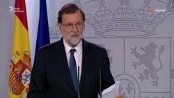Промова голови уряду Іспанії. Наміри щодо Каталонії (відео)