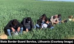 Migrants captured on June 17