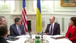 Яценюк зустрівся з міністром фінансів США