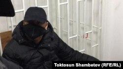Raimbek Matraimov in a Bishkek courtroom earlier this month