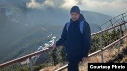 Silviu Roșu în Munții Ceahlău
