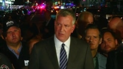 New York Mayor Says Explosion Was 'Intentional Act'