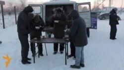 Обед для бездомных