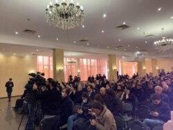 Съезд оппозиции, Сухуми. 11 марта, 2021 г.