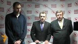 Прэсавая канфэрэнцыя Атрошчанкава, Лябедзькі і Калякіна