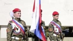 Военная форма и потеря сознания: ялтинские дети на акции «Вахта памяти поколений. Пост №1» (видео)
