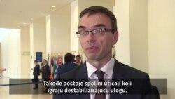 'Destabilizirajuća uloga spoljnih uticaja'