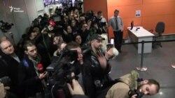 Саакашвілі видворили до Польщі: відео з аеропорту «Бориспіль» (відео)