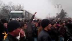 Protests Turn Violent In Northeastern Azerbaijan