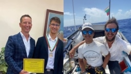 Едва няколко седмици след като завършиха експедицията Neverest Макс и Стефан се срещнаха със здравния министър Костадин Ангелов, който ги награди за приноса им към каузата с донорството