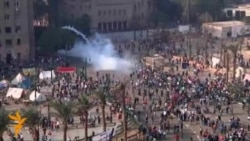 Egyptian Police Clash With Anti-Morsi Protesters