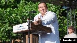 Armenia - Prosperous Armenia Party leader Gagik Tsarukian speaks at an election campaign rally in Aragatsotn province, June 15, 2021.