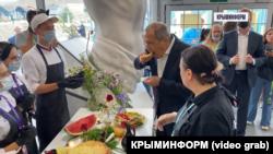 Срегій Лавров у Криму. Судак