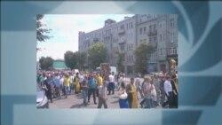 Фото з «Хресної ходи» УПЦ (МП)