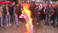 Трамп объявил, что посольство США может быть перенесено в Иерусалим. В Палестинской автономии протестуют