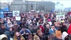 Тысячи жителей Будапешта потребовали от властей отказаться от сближения с Россией