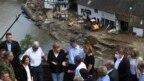 Angela Merkel tokom posjete poplavljenim područjima na zapadu Njemačke, 18. juli 2021.