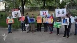 Пикет московских художников