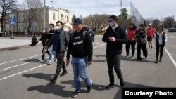Участники марша «За законность!», 4 апреля 2021 г.
