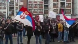 Kosovar Serbs Protest War Crimes Conviction