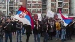 Kosovar Serbs Protest War Crimes Conviction