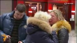 Crash Victims' Families Grieve At St. Petersburg Airport