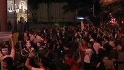 Бразилия: протест профсоюзов
