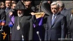 ՀՀ նախագահ Սերժ Սարգսյանը այցելեց Ծիծեռնակաբերդ