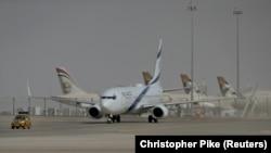 Израильский самолёт в Абу-Даби, 31 августа