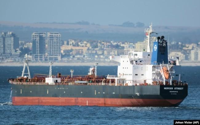 تصویری از نفتکش مرسر