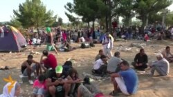 Migrants Stuck At Macedonian-Greek Border