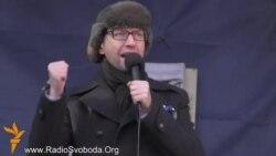 Выступ Арсеня Яцанюка на Майдане