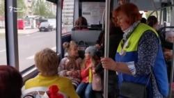 Праехалі ў тралейбусе зь беларускамоўнай кандуктаркай