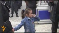 Police In Baku Detain 5-Year-Old 'Protester'