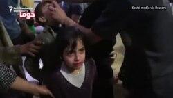 Zeci de morți într-un presupus atac cu arme chimice în Siria