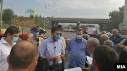 Протест на лозари во Неготино
