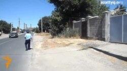 Очевидец взрыва в Шымкенте