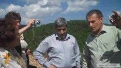 Բնապահպաններին թույլ չեն տվել մուտք գործել Շամլուղի բաց հանքի տարածք