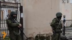 Pro-Russian Troops Remain On Simferopol Streets