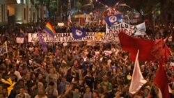 Забастовка учителей в Бразилии