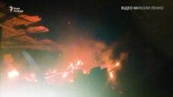 Бійці ЗСУ питною водою гасили пожежу в прифронтовому Новгородському – відео